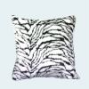 Solid color plush cushion cover square cushion cover