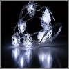 2m 20 lights battery-operated led christmas light
