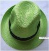 Free shipping fedora straw hats ,summer straw hats,multi-color straw hats,moq 10pcs