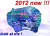 factory customize 2012 new style pvc mouse pad