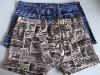 2011 printed Men's boxer shorts