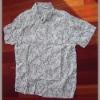Printed cotton short sleeve leisure men's shirt (IAP0049) Euro Size,Nice confection