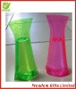 Advertising Top Quality Logo Printed Foldable PVC Vase,Plastic Flower Vase