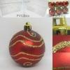 Wholesale 2011 Christmas plastic ball