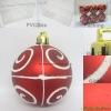 Wholesale Christmas plastic ball