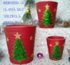 ceramic Christmas flower pot(ceramic pot,terracotta)