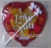 valentine's day series auto inflatable foil balloon