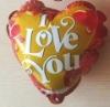 velentine's days toy mini auto inflabale foil balloon