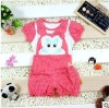 2011 children's fashion lovely funny comfortable new clothing set