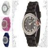 fashion geneva silicone watch