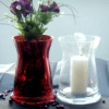 Wholesale Silvering glass candle holder, wind light, hurricane lantern