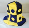 12 CRAZY CARNIVAL FUNNY HAT CH15 parties novelty caps