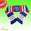 100% Acrylic football knitted scarf