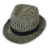 Paper Straw Hats Fashion Fedora