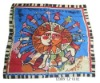 2011 new square fashion silk scarf