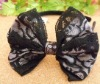 Wholesale 2012 Best selling fashion bow crochet headbands